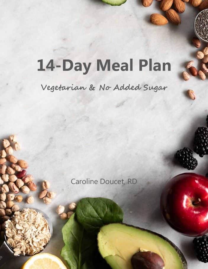 14-Days Vegetarian Meal Plan