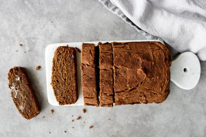 Pumpkin Bread (Gluten-Free, No Added Sugar) - Unsweetened Caroline