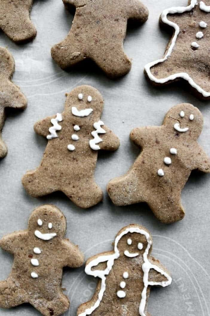 Chai-Spiced Cut-Out Cookies seen from the top as great holiday desserts