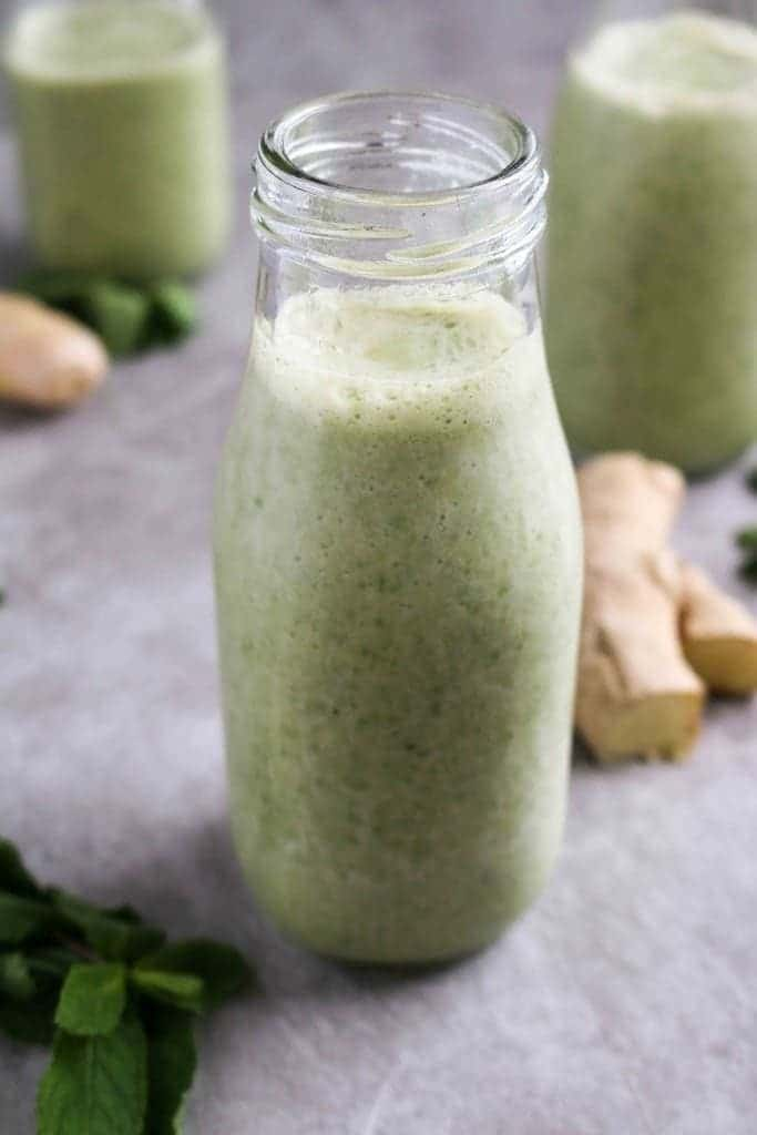 Healthy Digestion Smoothie (vegan, refined sugar-free) - Unsweetened Caroline-0550