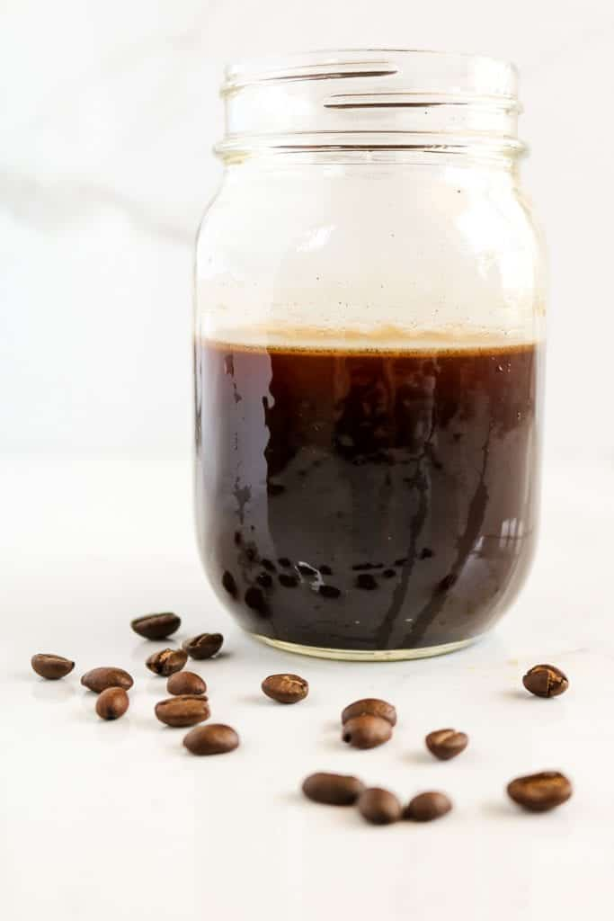 How-To- Cold Brew Coffee & Ice Cubes - Unsweetened Caroline-1013
