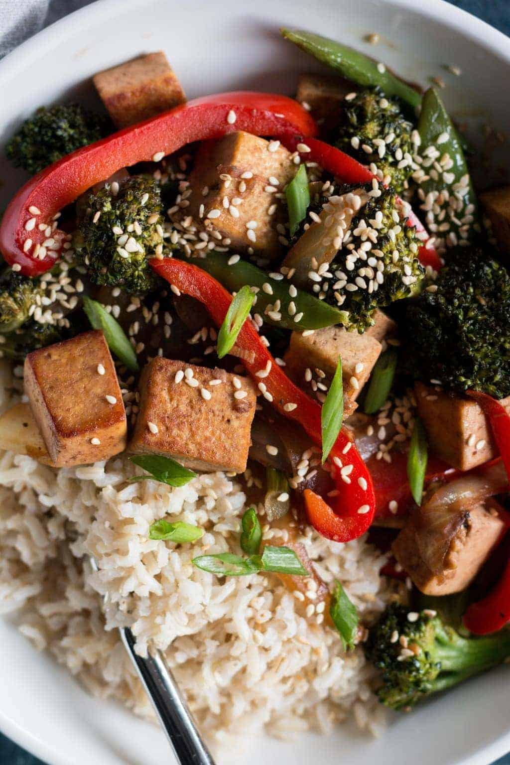 Weeknight Vegetarian Stir Fry