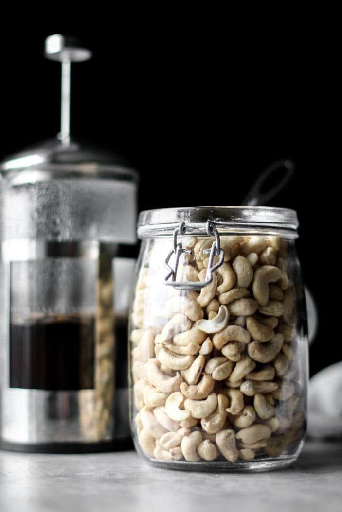 Creamy Cashew Chai Latte | Unsweetened Caroline