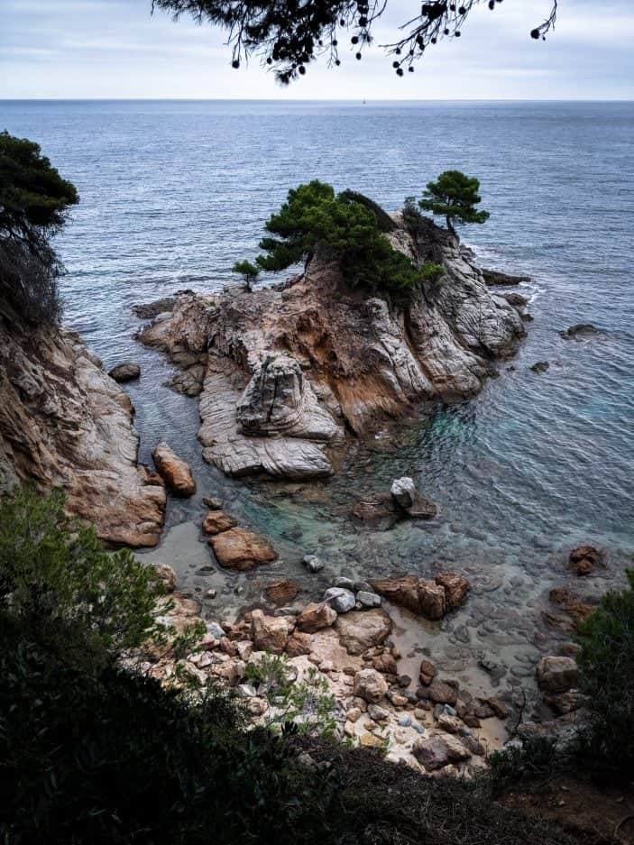 Lloret de Mar beach - Backpacking in Europe