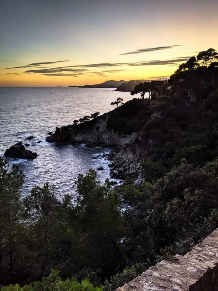 Lloret de Mar sunset