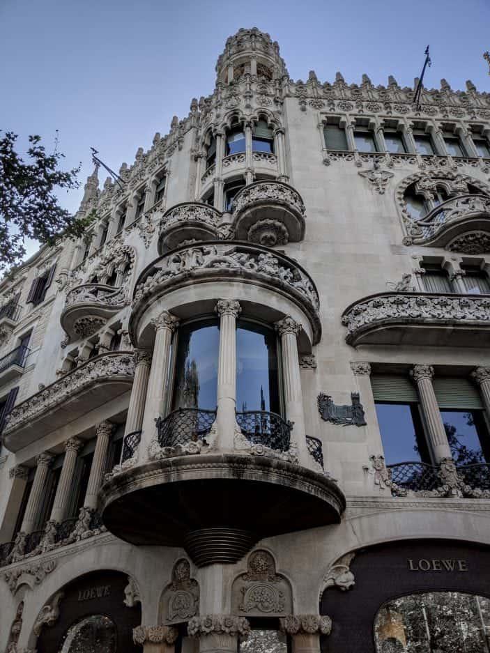 Barcelona building
