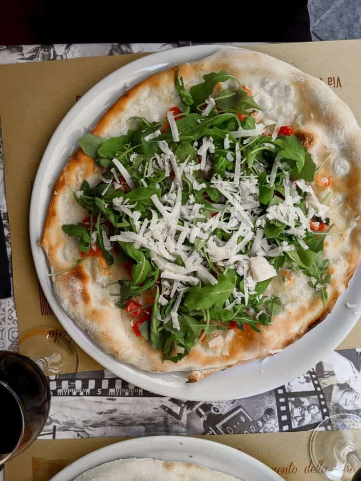 Vegetarian Pizza in Italy