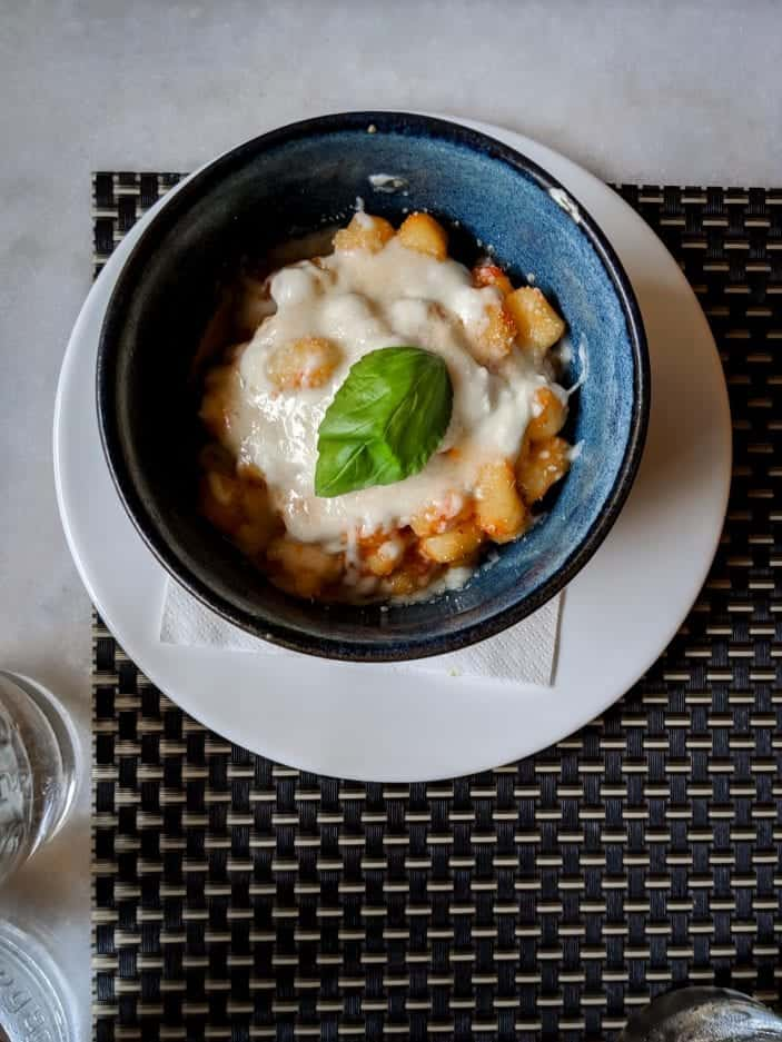 Eating Vegetarian in Tuscany - gnocchi