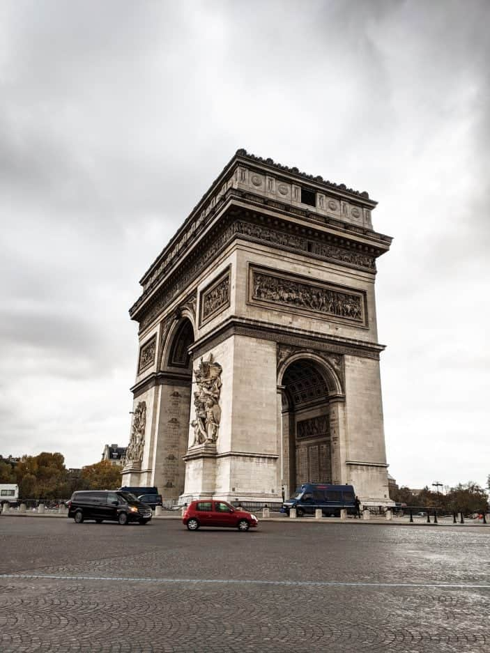 1 week in Paris - Arc de Triomphe