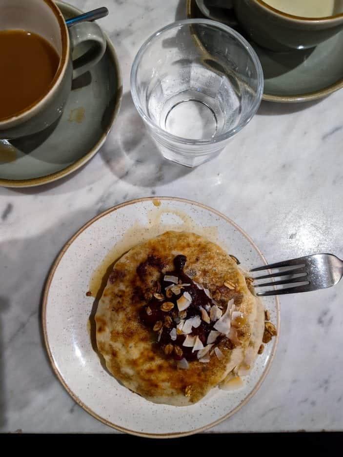 Deliciously Ella pancakes