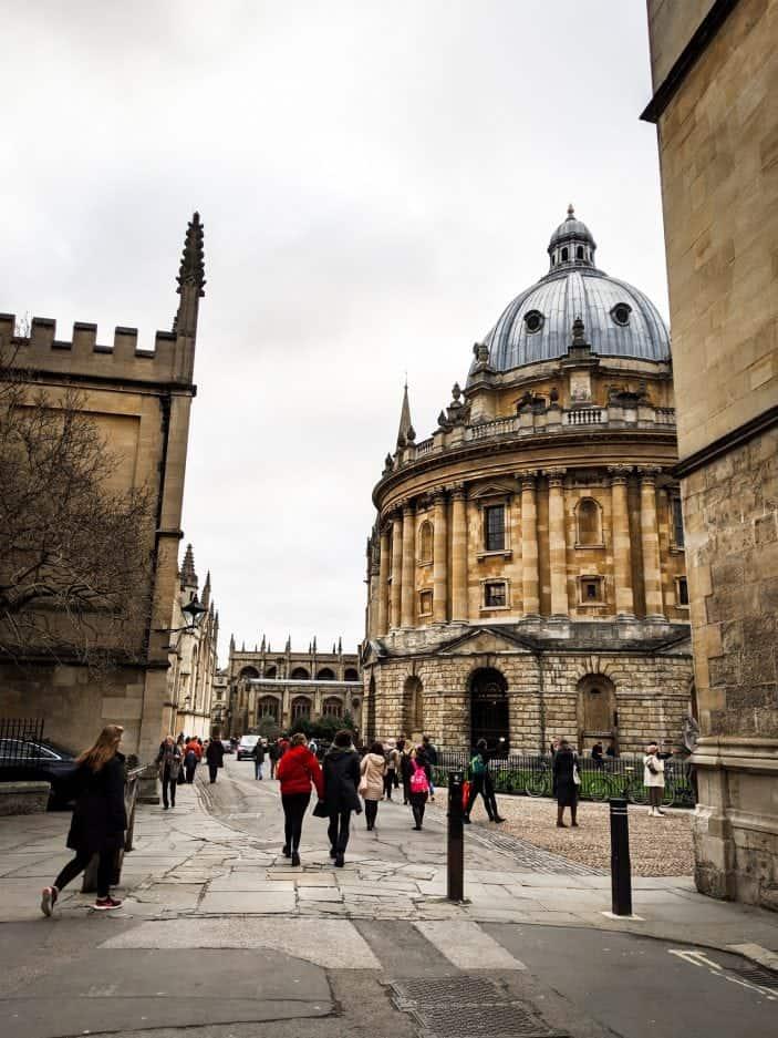 Oxford building, England