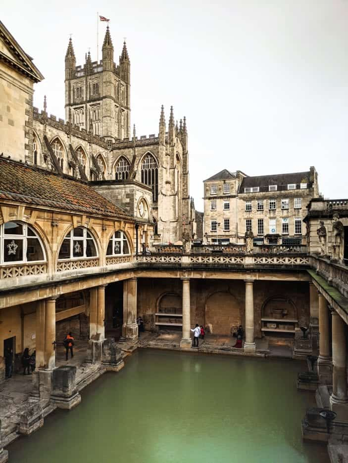 Bath, England - backpacking in Europe