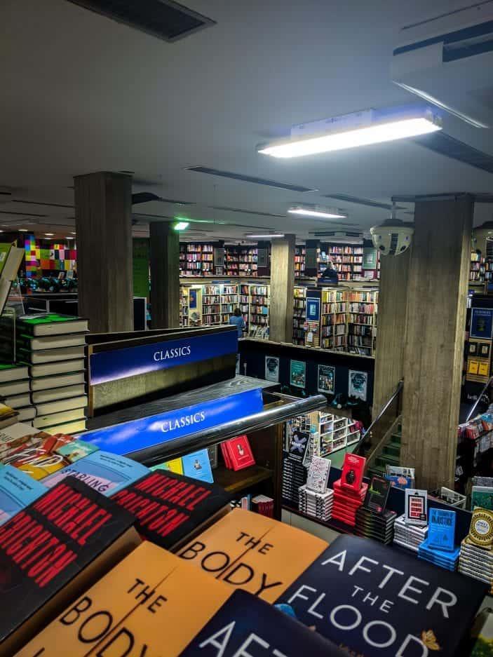 Heffers bookshop interior