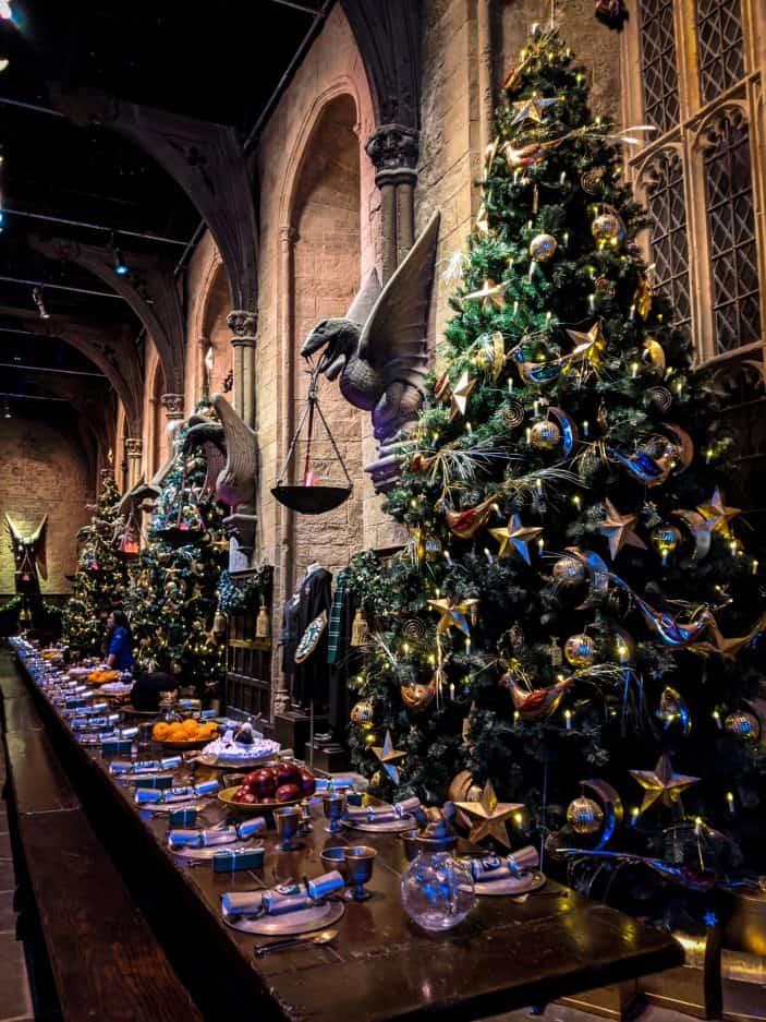 Harry potter Christmas feast