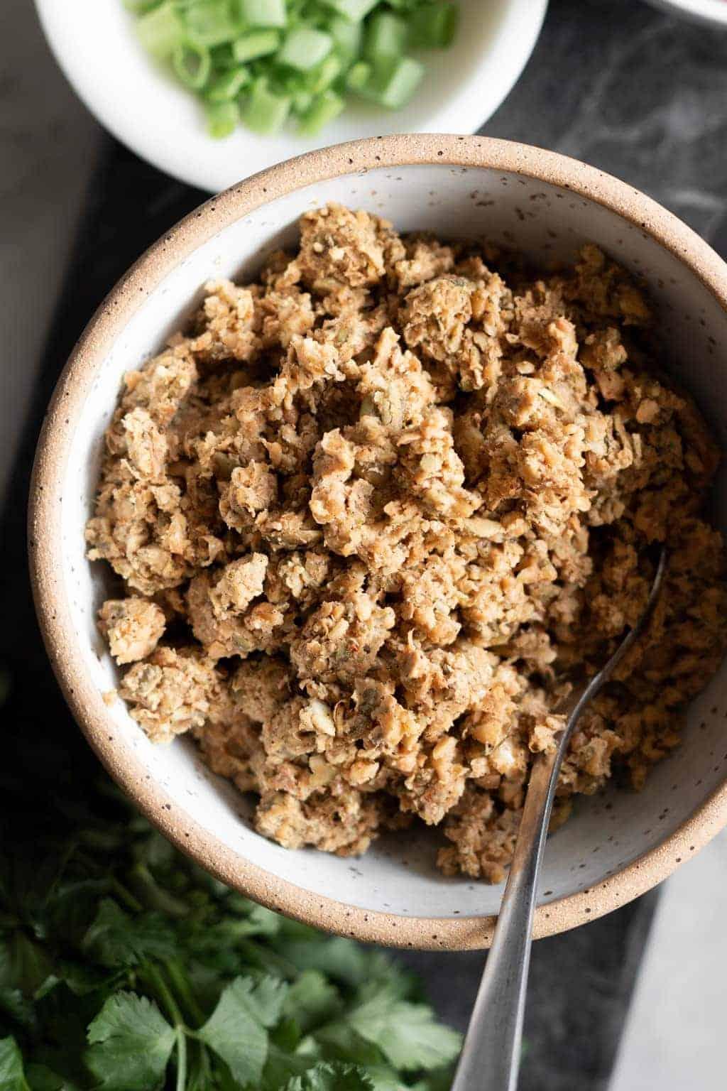 Nut-Free Lentil Taco Meat