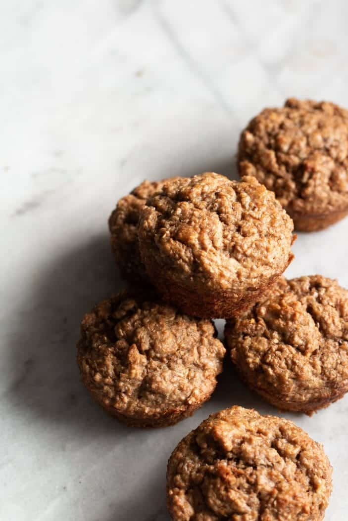 The Healthiest Banana Bran Muffins - top 10 recipes of 2019