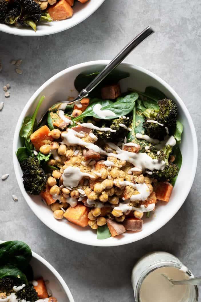 vegan recipes to start the New Year - salad