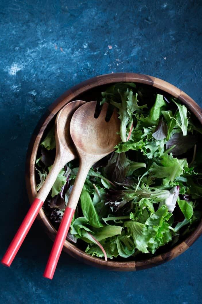 leafy greens in a bowl