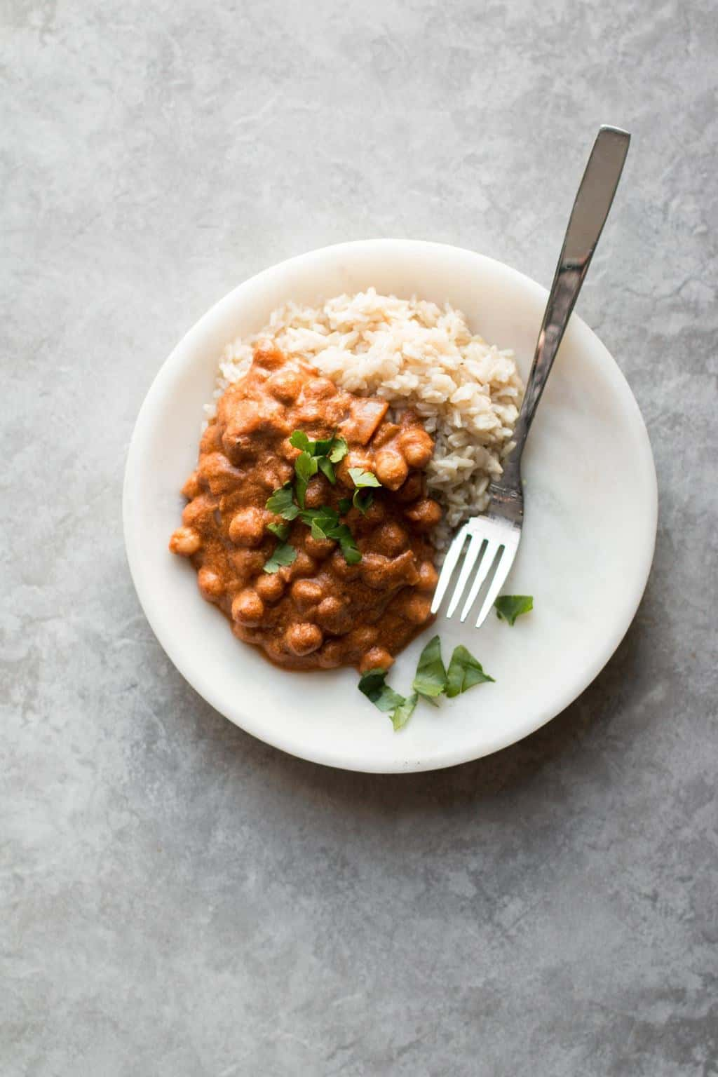 Instant Pot Butter Chickpea