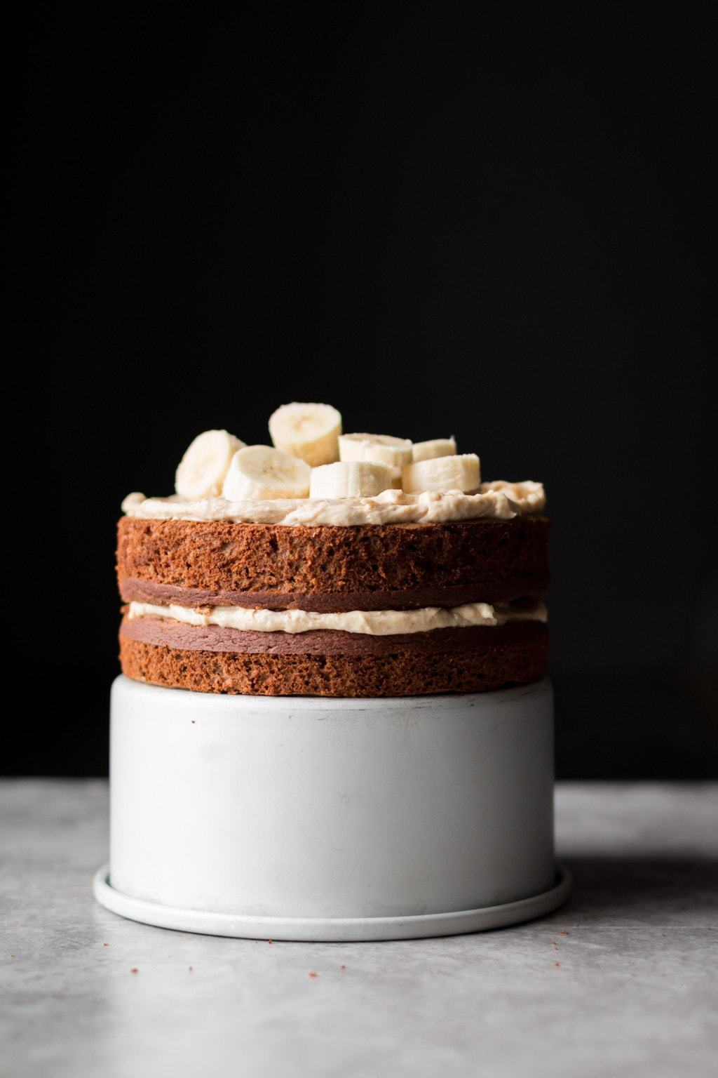 Spiced Banana Cake with Cream Cheese Frosting