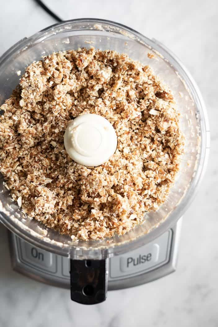 crumble in a food processor