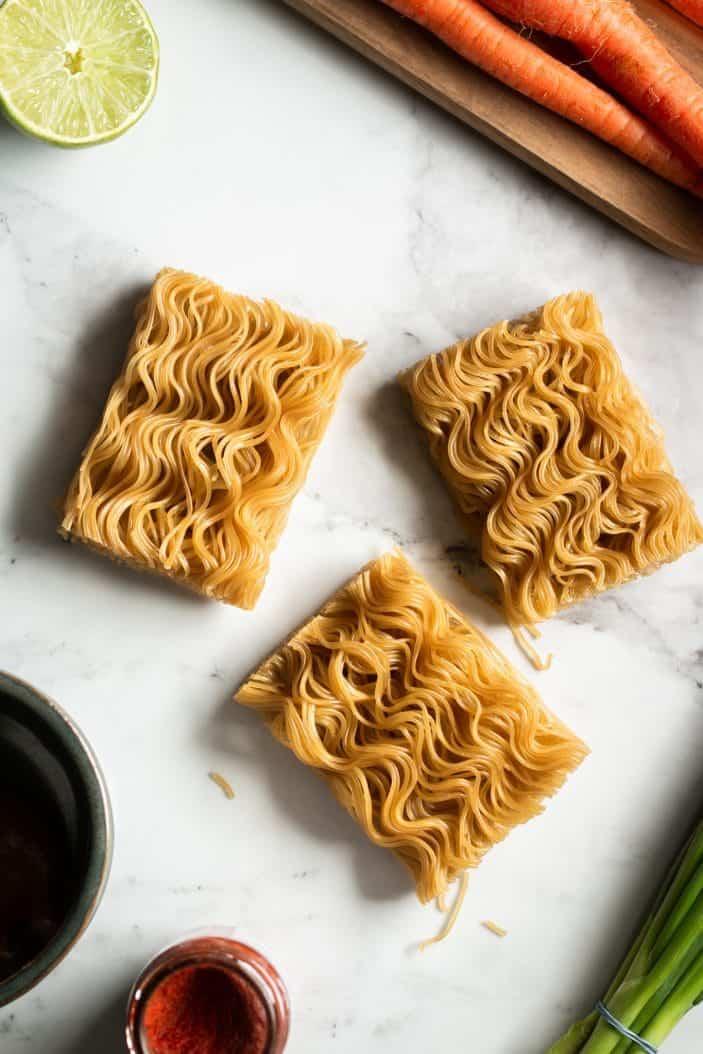 brown rice ramen noodles