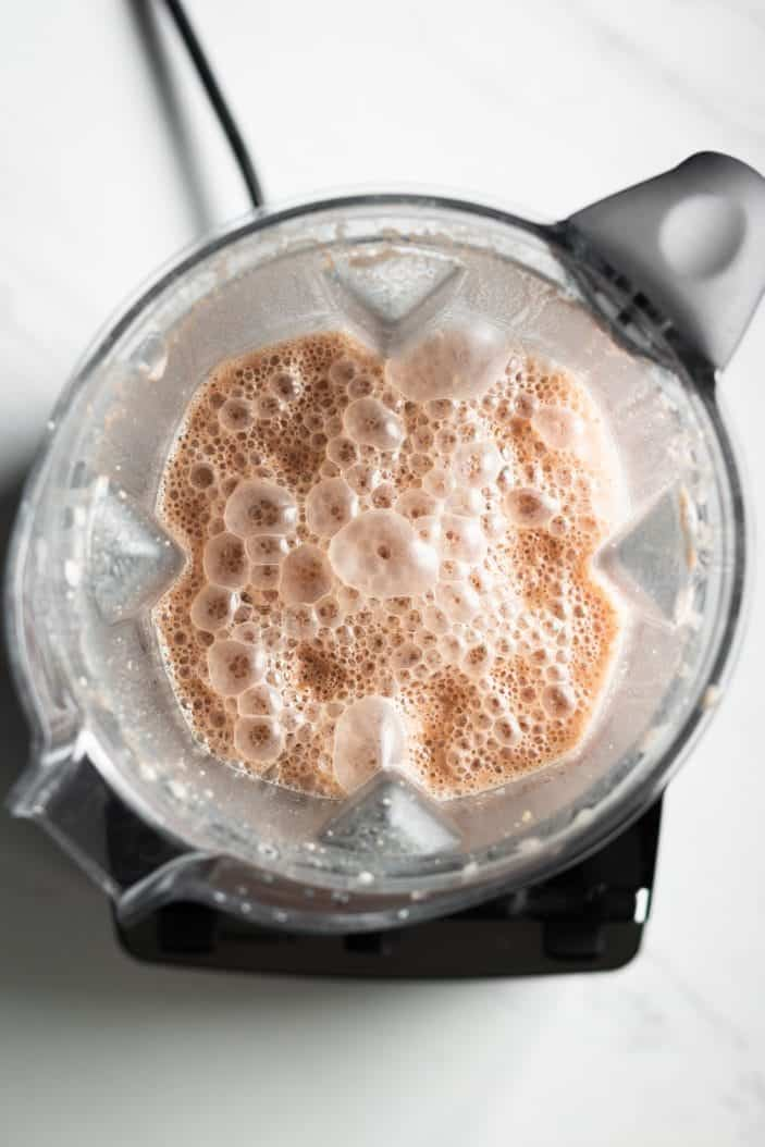 Hot Cocoa in the blender