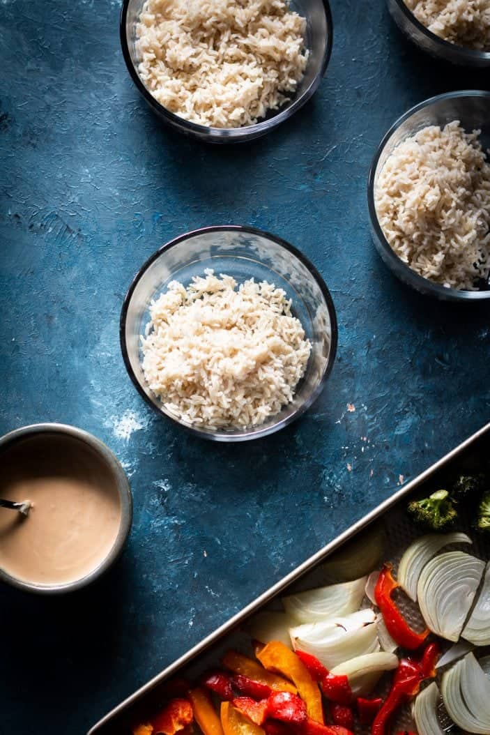 rice in bowls