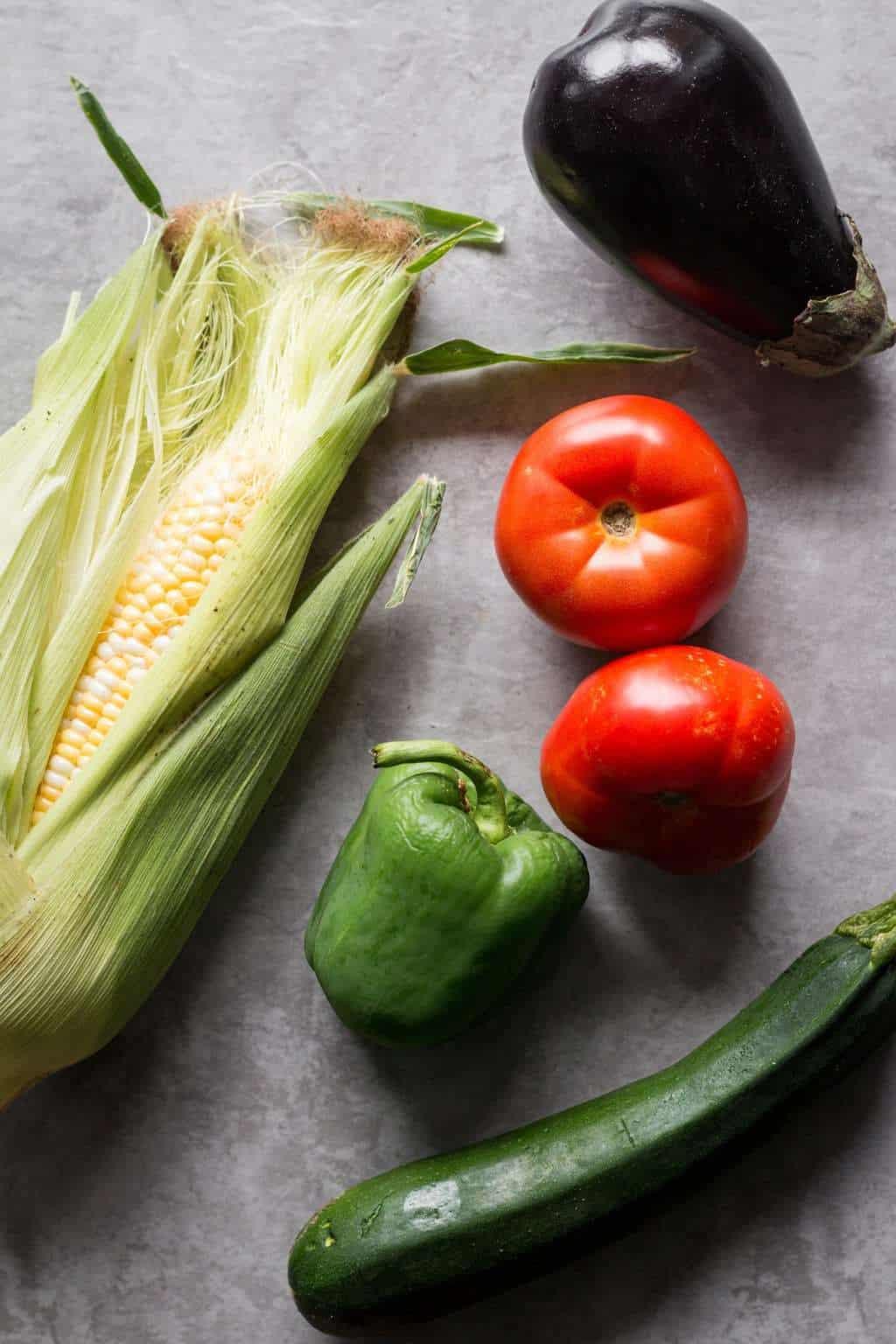 Late Summer Vegetarian Tex-Mex Casserole