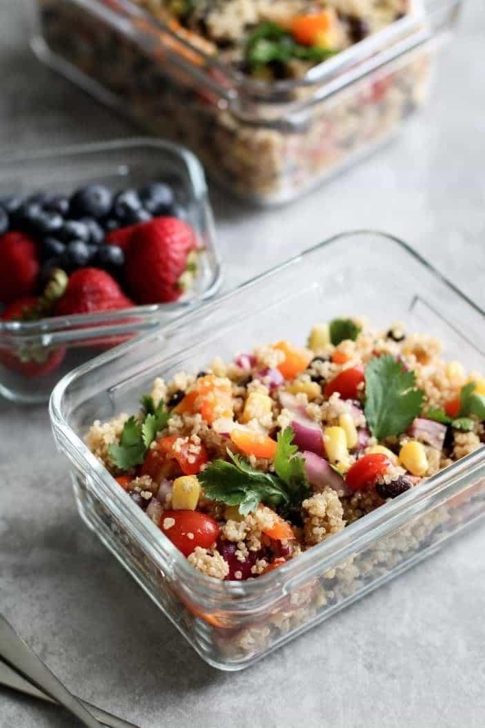 Lunch Box Southwestern Quinoa Salad