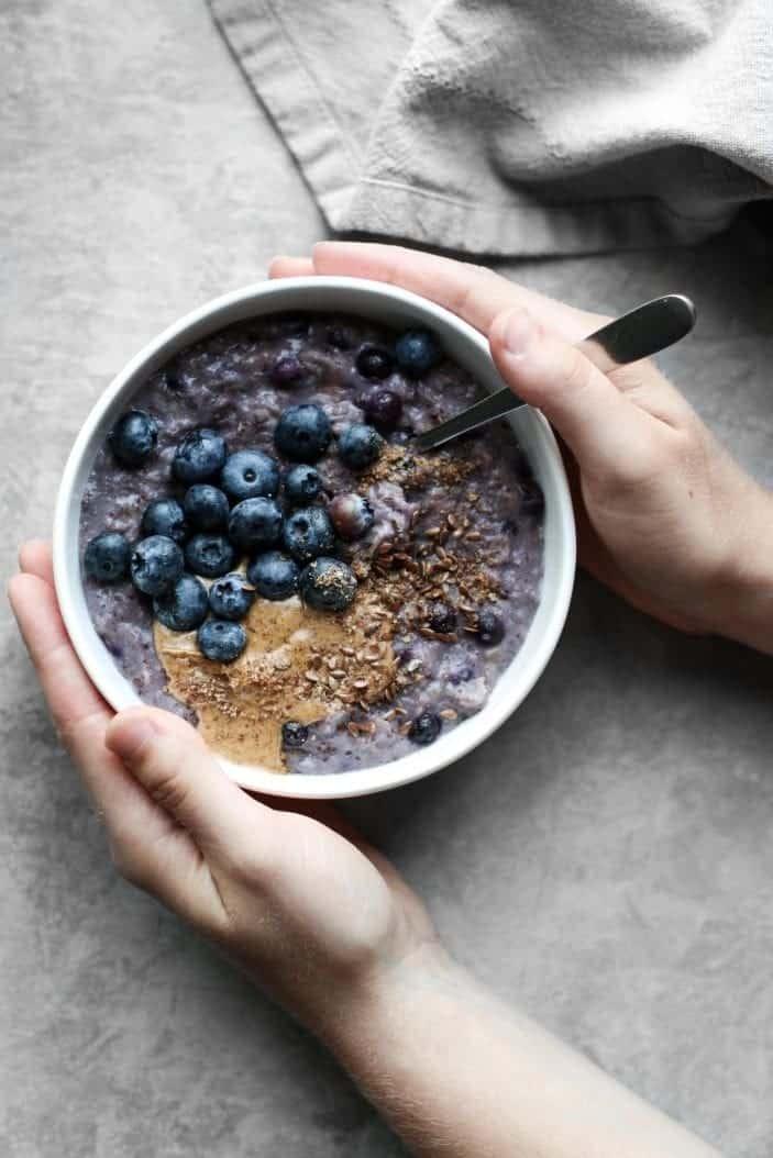 Blueberry Flax Oatmeal