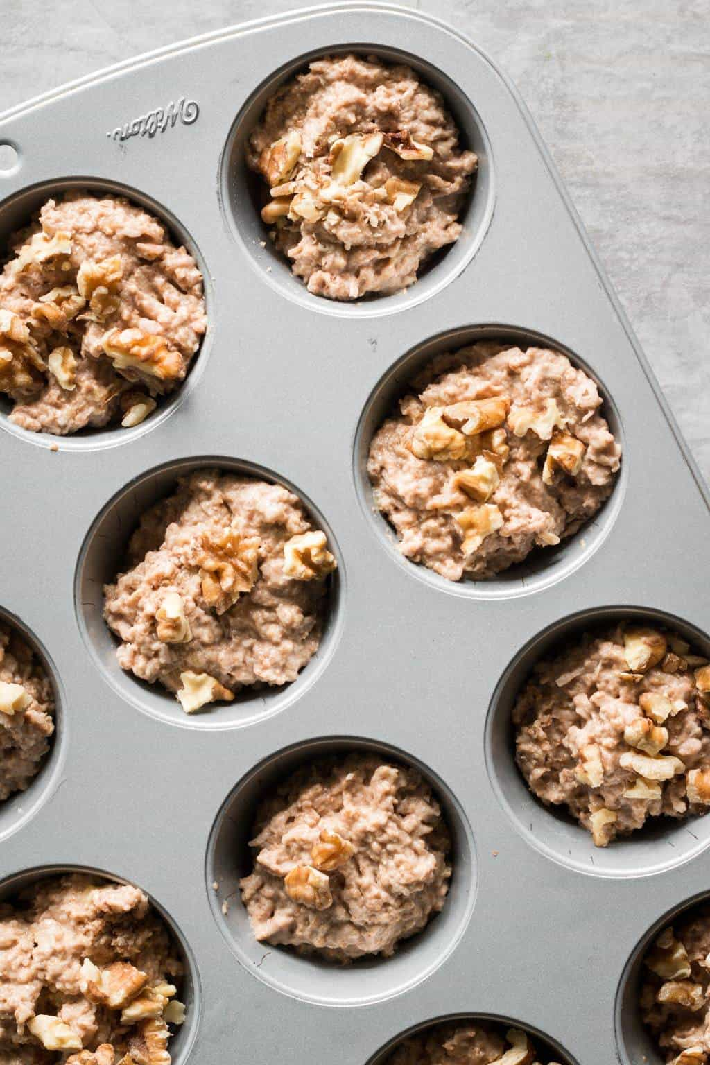 Fruit-Sweetened Apple Muffins