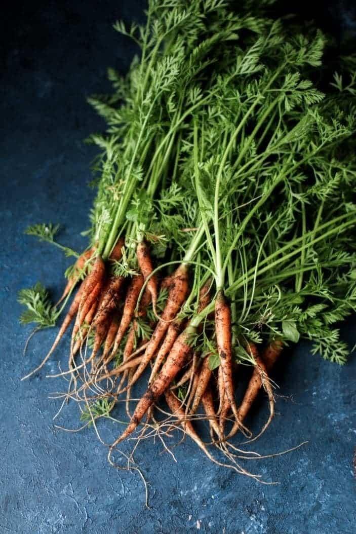 Creamy Carrot Top Avocado Sauce