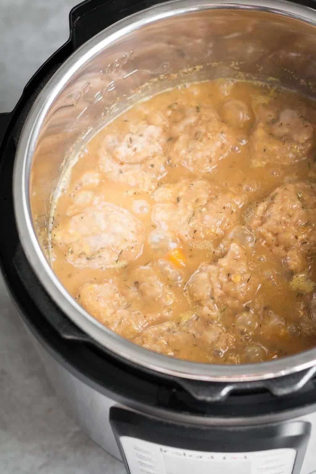 Instant Pot Lentil Fricot