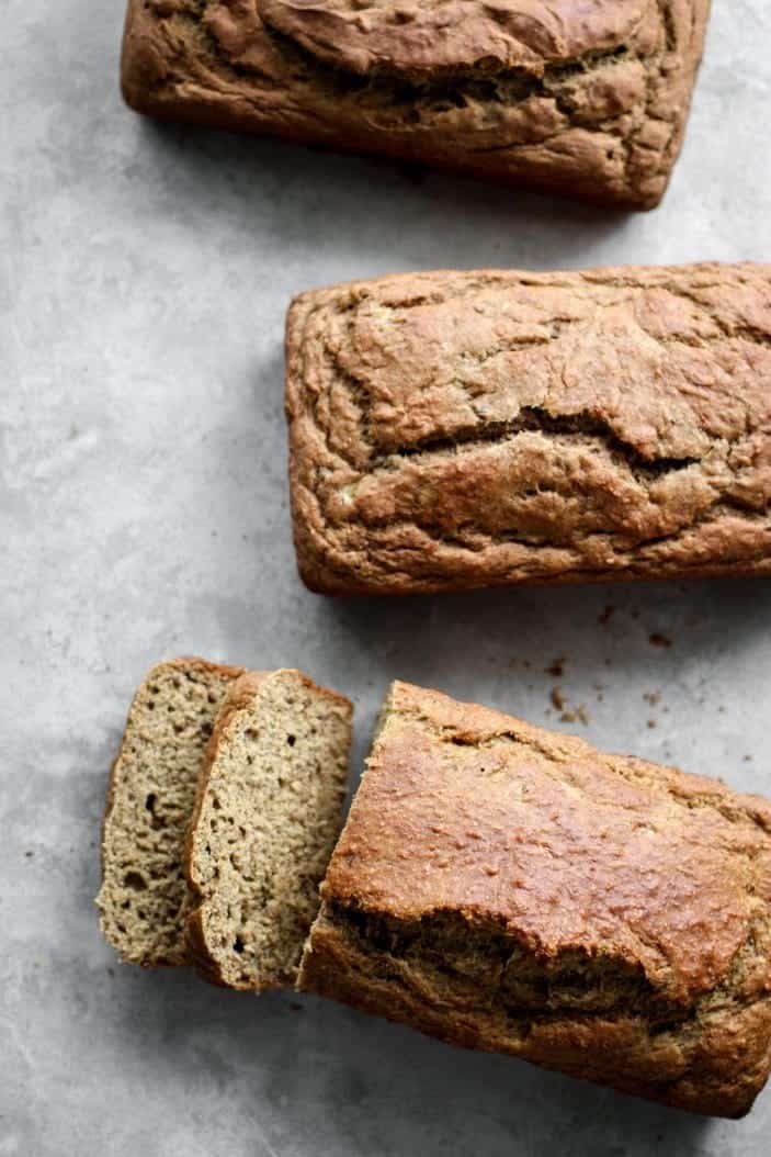 Sugar-Free Breakfast Banana Bread