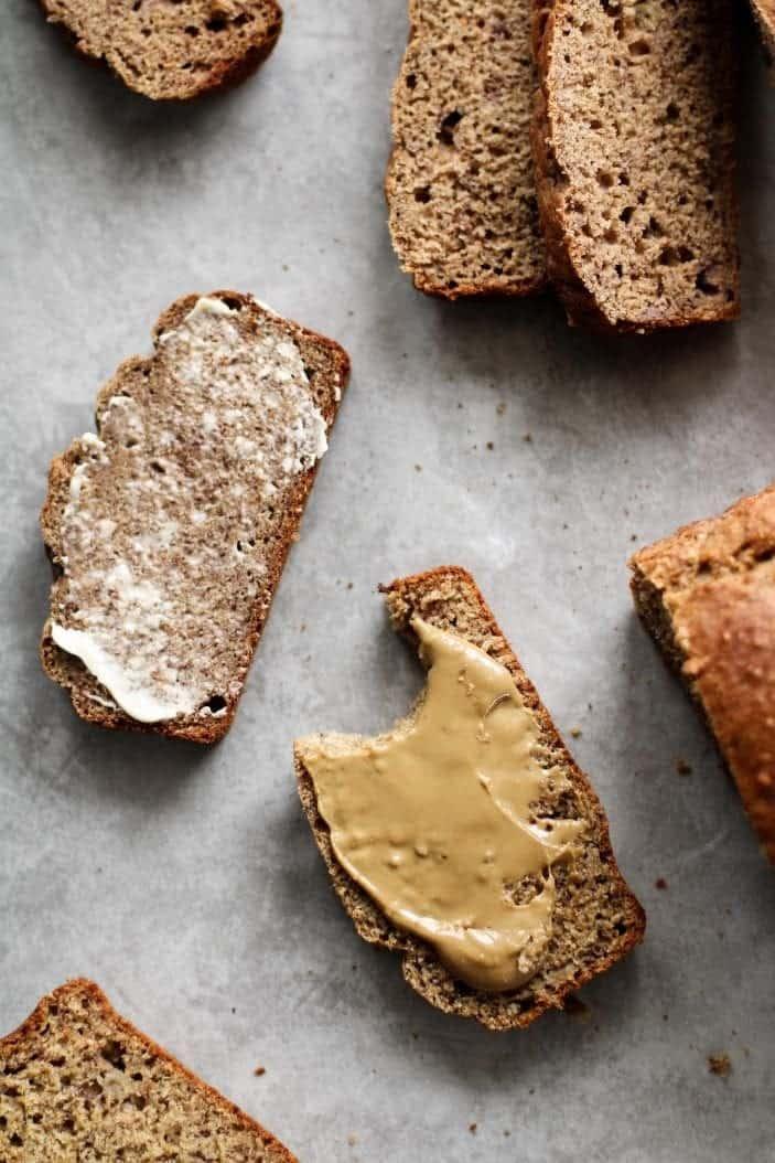 Sugar-Free Breakfast Banana Bread