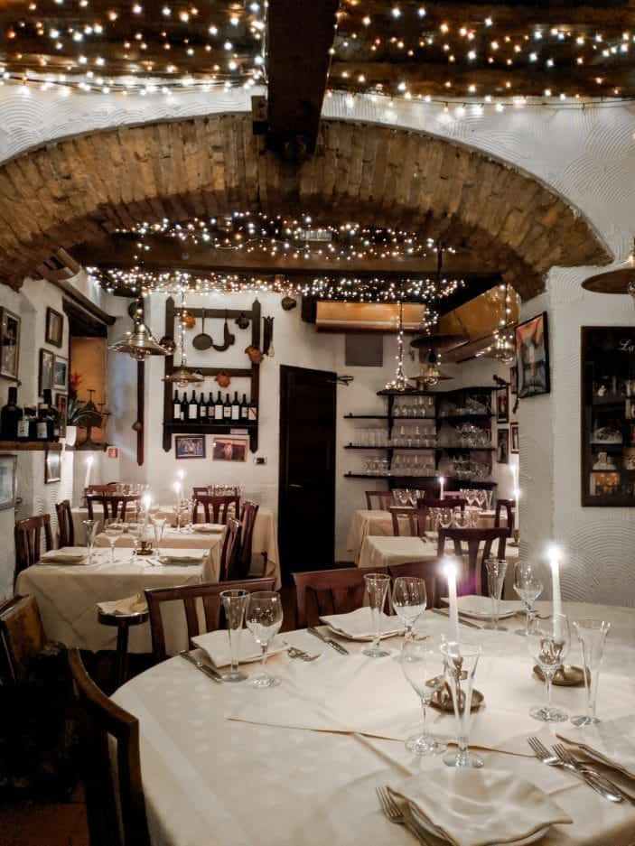Eating Vegetarian in Tuscany - Italian restaurant