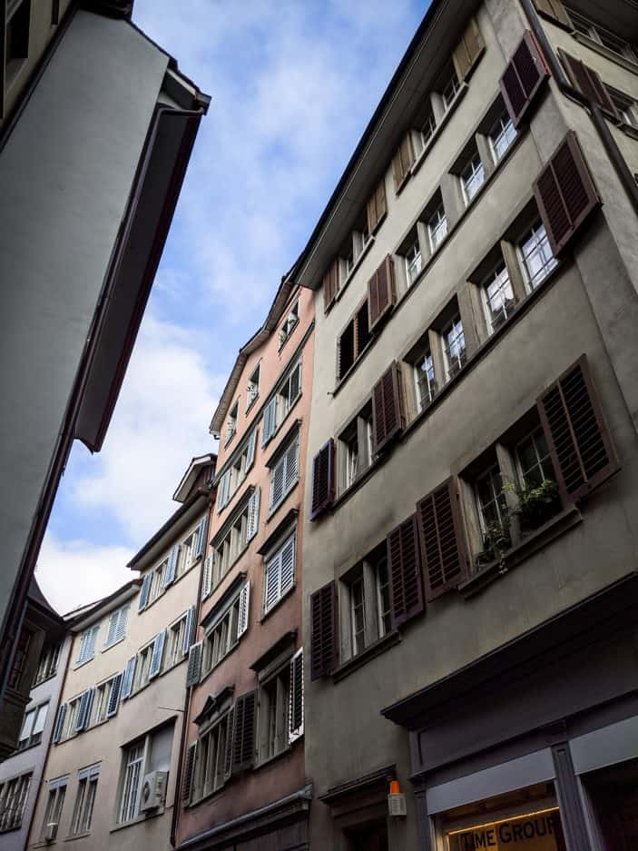 building in Zurich
